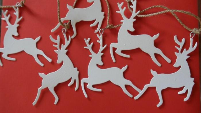 weihnachtsdeko ideen baumanhänger weihnachten schöne dekoideen