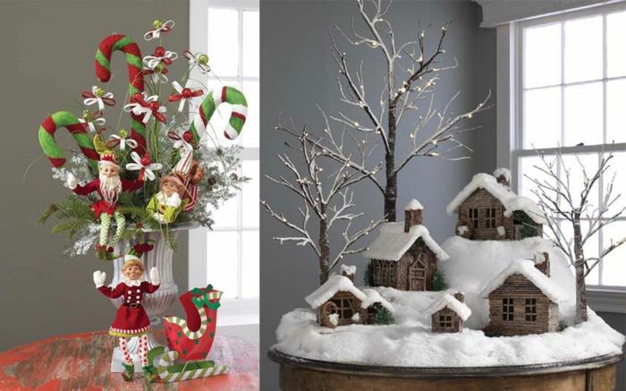weihnachtsdeko ideen häuser tischdeko ideen schöne dekoideen