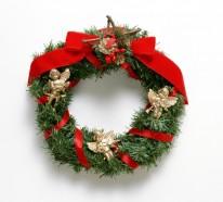 So können Sie einen Weihnachtskranz selber basteln – 50 der schönsten Türkränze