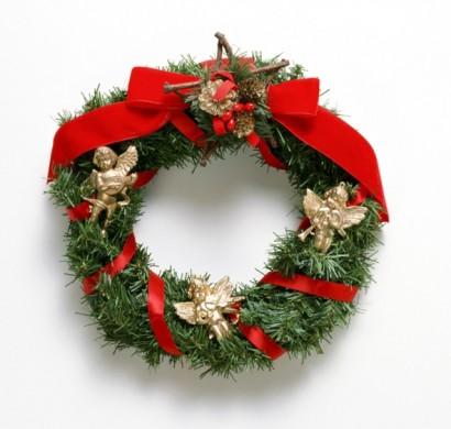 Weihnachtsdeko An Der Haustür.So Können Sie Einen Weihnachtskranz Selber Basteln 50 Ideen