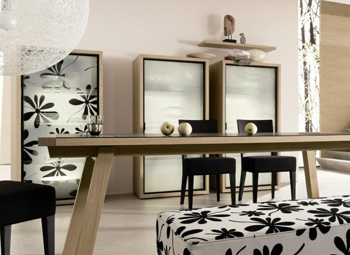 wohnzimmer und esszimmer kombinieren raum und m beldesign inspiration. Black Bedroom Furniture Sets. Home Design Ideas