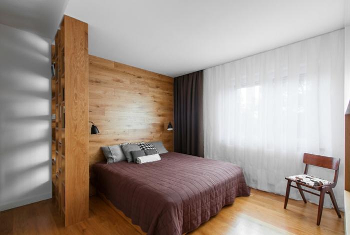 wohnideen schlafzimmer offene regale regalwand kleines schlafzimmer