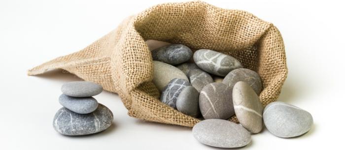 yin yang bedeutung runde natursteine