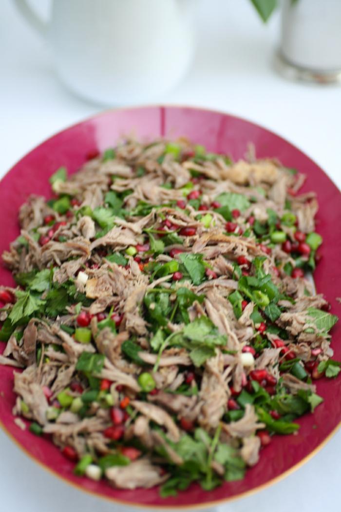 zauber der gewürze koriander gesunder salat gesundes abnehmen