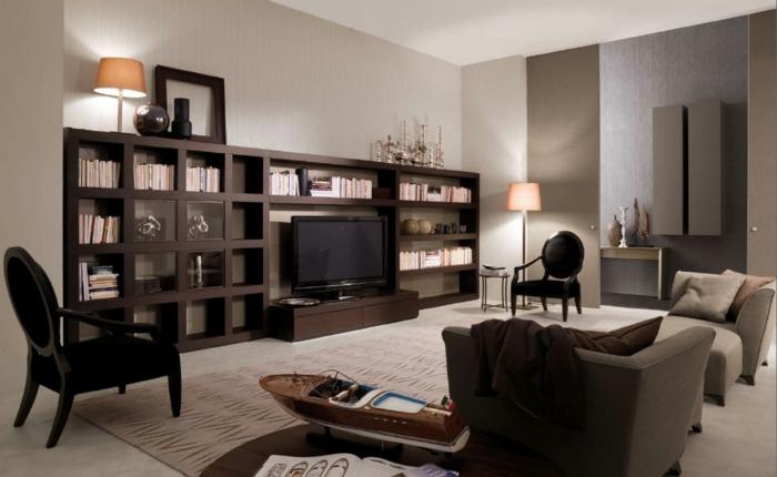 zimmer-einrichten-ideen-wohnzimmer-stilvoll-gemütlich-lampen