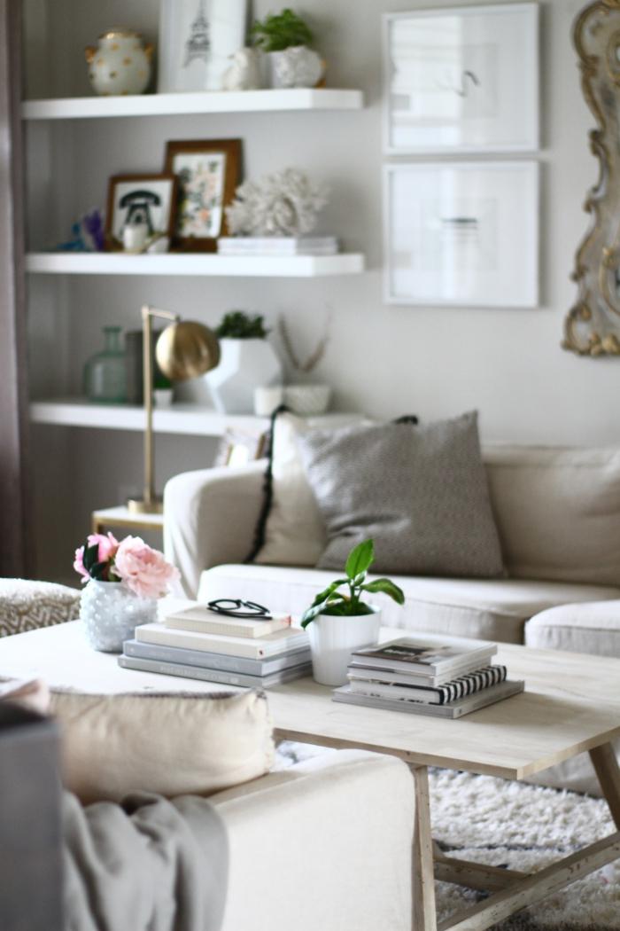 zimmereinrichtung gemütliches wohnzimmer neutrale farben