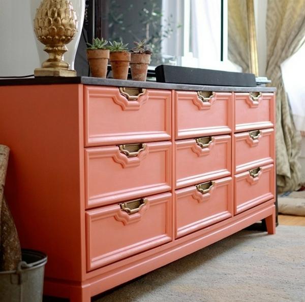 zuhause alte kommode auffrischen pastellfarben