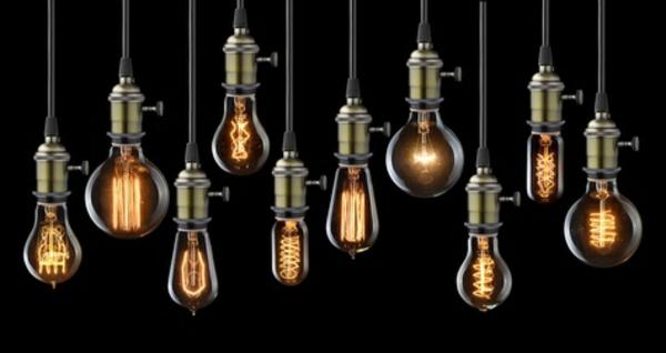 Lampen und Leuchten Led Leuchtmittel einfache Pendelleuchten