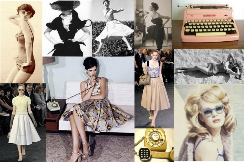 50er Mode Vintage Kleider 50er Retro Inspiration