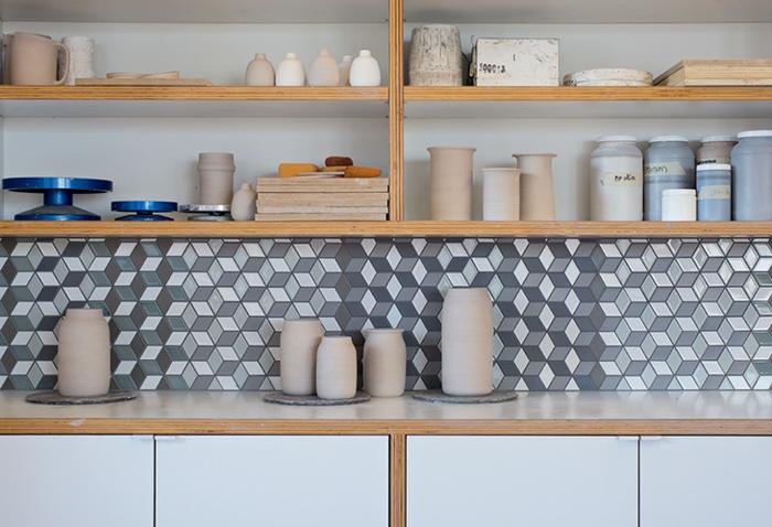 Inneneinrichtung bodenbelag interiordesign keramik fliesen küchen rückenwand