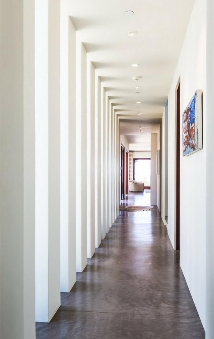 Inneneinrichtung bodenbelag interiordesign pplierter betonboden