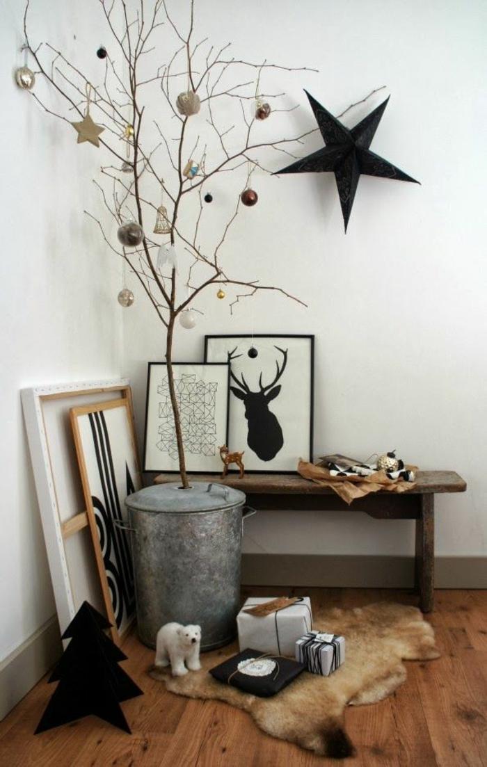 Weihnachtsbaum basteln kreative bastelideen f r weihnachten - Sapin de noel en bois ikea ...