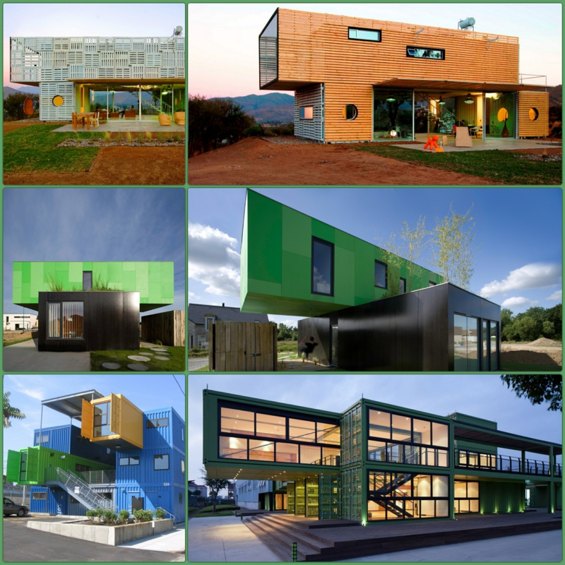 Container Architektur bemerkenswerte Containerhäuser Haus aus Containern