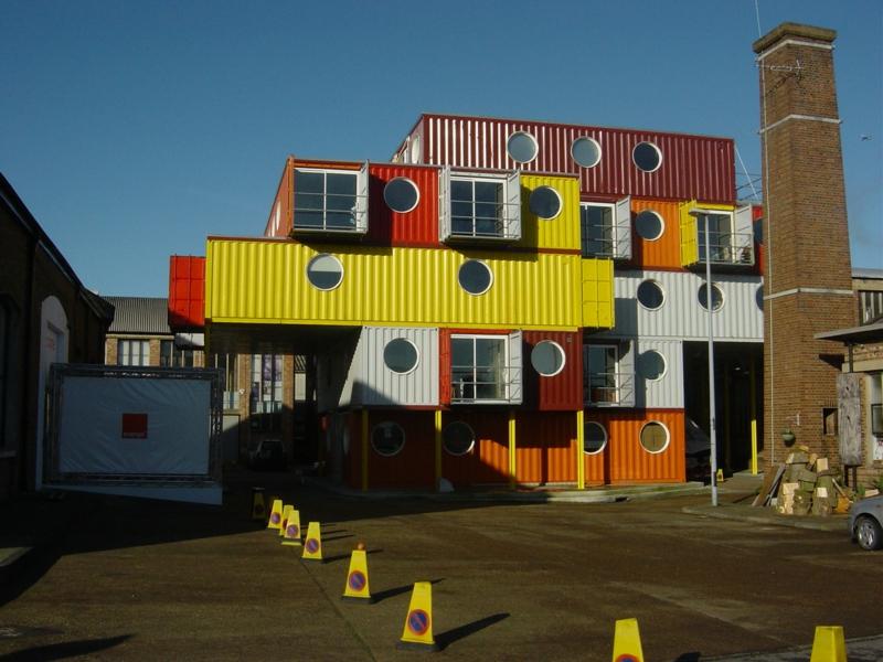Container Architektur bemerkenswerte Containerhäuser aus Europa