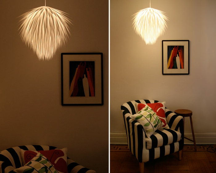 DIY LAMPEN SELBER machen lampe diy lampenschirme selber machen flauschig