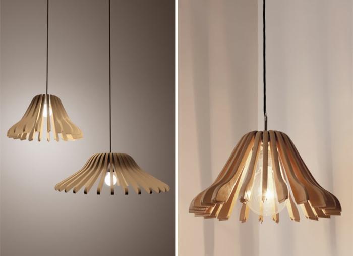 DIY Lampe DIY LAMPEN SELBER machen lampe diy lampenschirme selber machen kleiderbügel