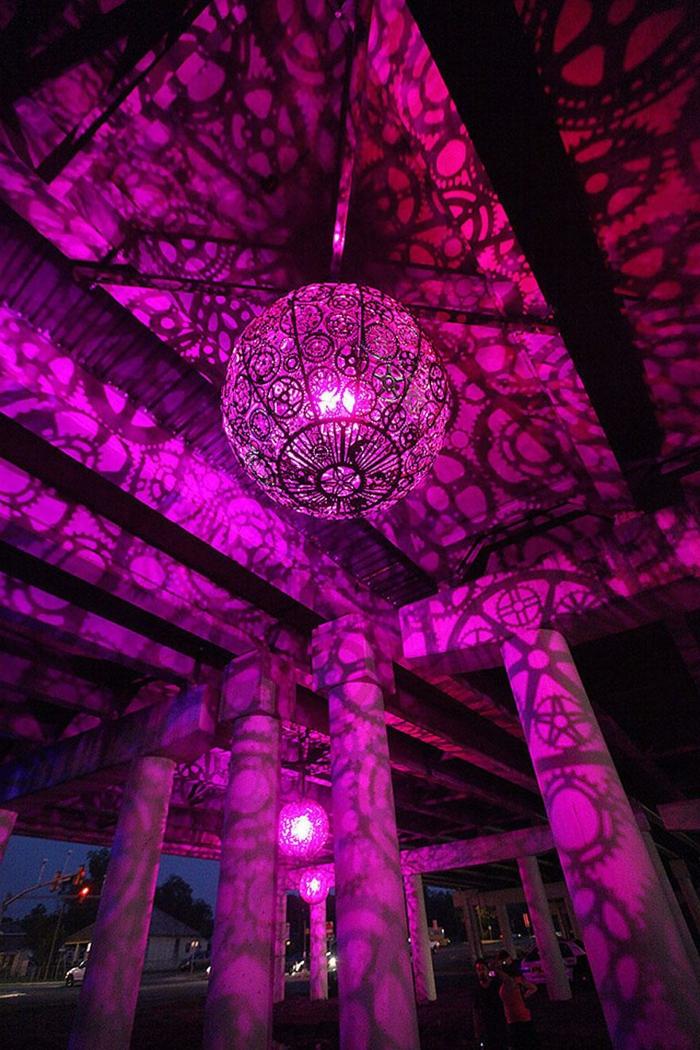 DIY LAMPEN SELBER machen lampe diy lampenschirme selber machen kronleuchter getriebe