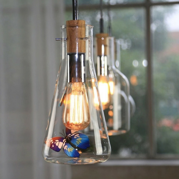 59 fantasievolle diy lampen f r echte individualisten. Black Bedroom Furniture Sets. Home Design Ideas