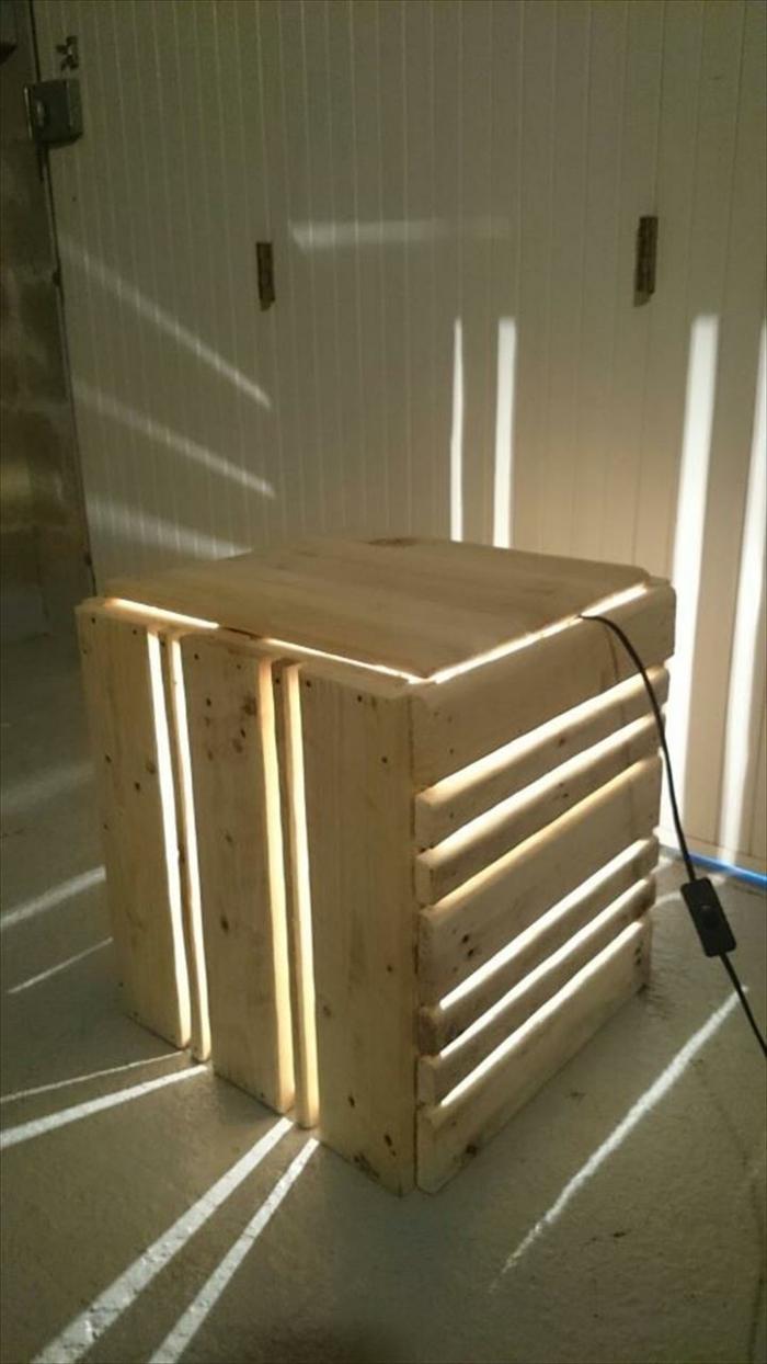 DIY Lampe LAMPEN SELBER machen lampe diy lampenschirme selber machen möbel aus paletten