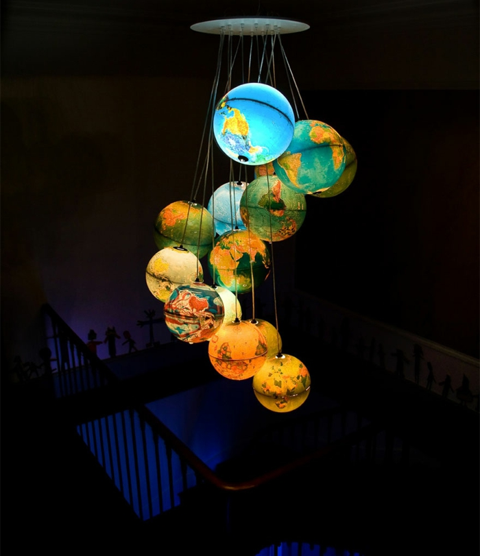 DIY Lampe LAMPEN SELBER machen lampe diy lampenschirme selber machen sonnensystem