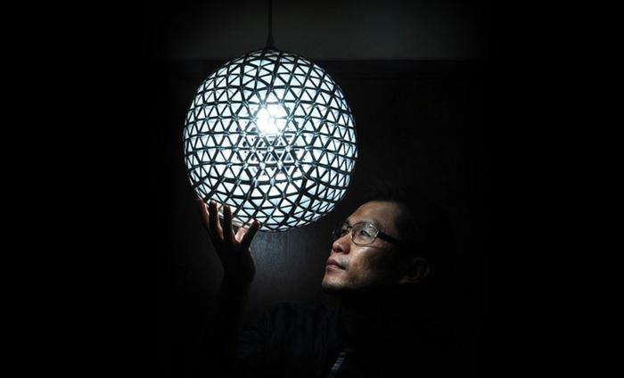DIY Lampe LAMPEN SELBEr machen lampe diy lampenschirme selber machen tetrapack