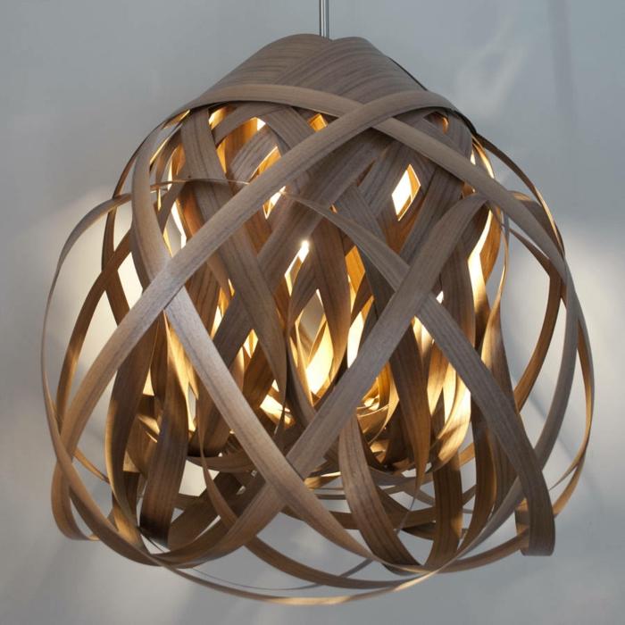 DIY LAMPEN SELBER machen lampe diy lampenschirme selber machen vogelnest hängeleuchte