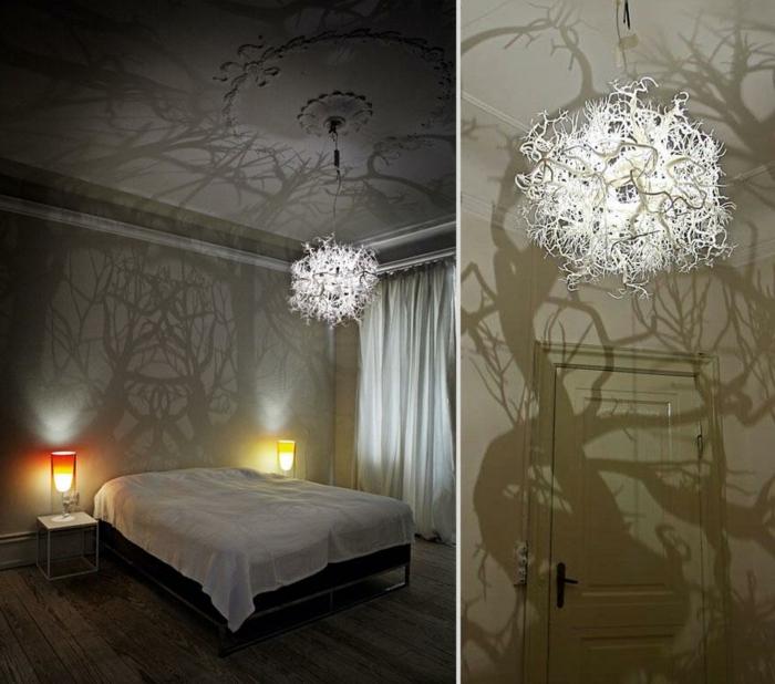 LAMPEN SELBER machen lampe diy lampenschirme selber machen zauberwald kronleuchter