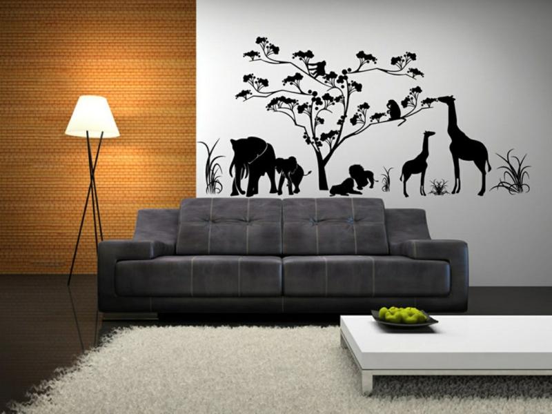 dekoideen wohnzimmer: exotische stile und tolle deko ideen im, Wohnzimmer