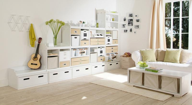 dekoideen wohnzimmer: exotische stile und tolle deko ideen im ... - Natur Deko Wohnzimmer