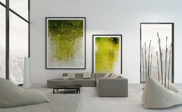 Exotische Stile Und Tolle Deko Ideen Verschnern Das Moderne Wohnzimmer