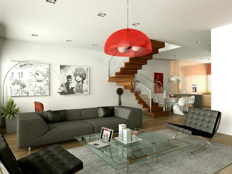 dekoideen wohnzimmer exotische stile und tolle deko ideen im wohnzimmer. Black Bedroom Furniture Sets. Home Design Ideas