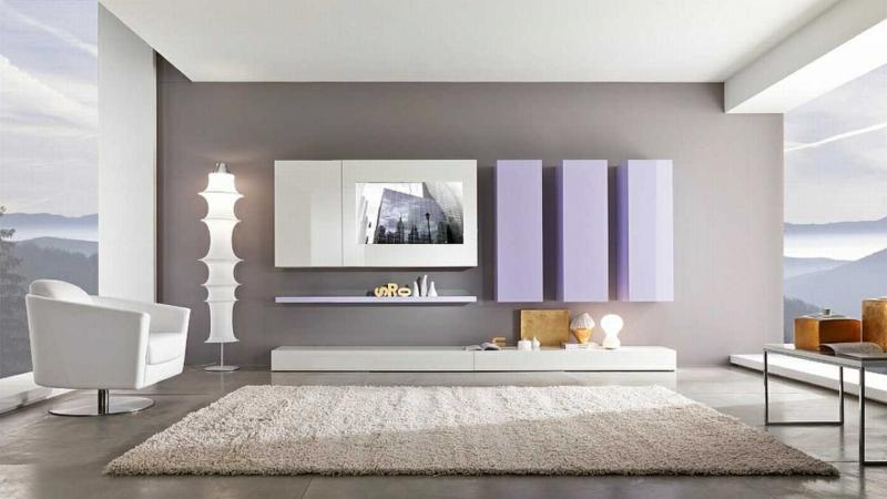 dekoideen wohnzimmer einrichten beispiele wohnzimmerwand ideen - Beispiele Einrichtung Wohnzimmer