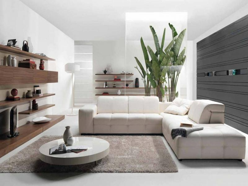 Dekoideen wohnzimmer exotische stile und tolle deko ideen for Moderne grosse zimmerpflanzen