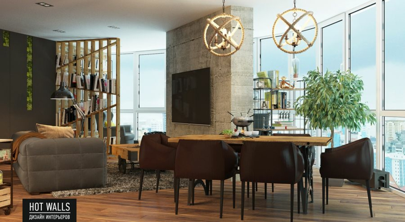 design offene wohnzimmer k che. Black Bedroom Furniture Sets. Home Design Ideas