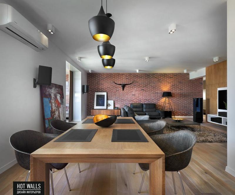 Einrichtungsbeispiele vom russischen designstudio hot walls for Wohnungseinrichtung ideen