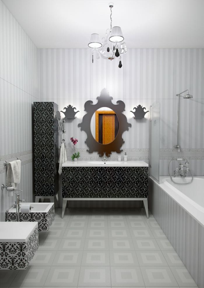 Die Gotik Architektur Merkmale Kunst weisses Badezimmer Gestaltung Design badezimmer gerstaltung