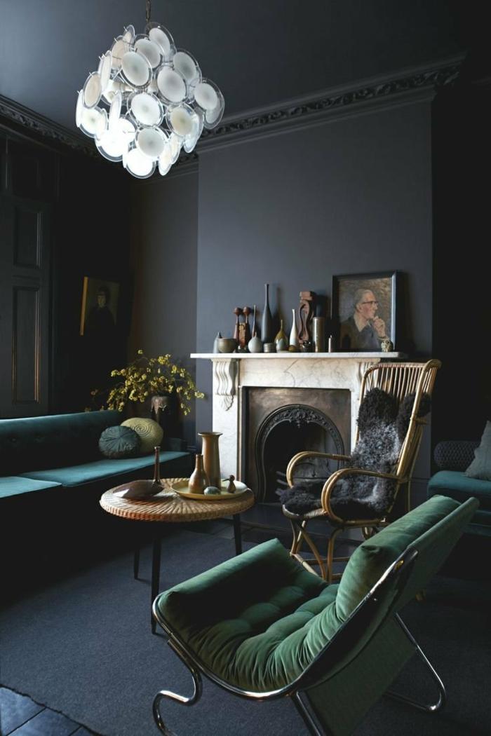 Die- Gotik-Architektur Merkmale Kunst weisses Badezimmer Gestaltung Design dunkle szene interieur