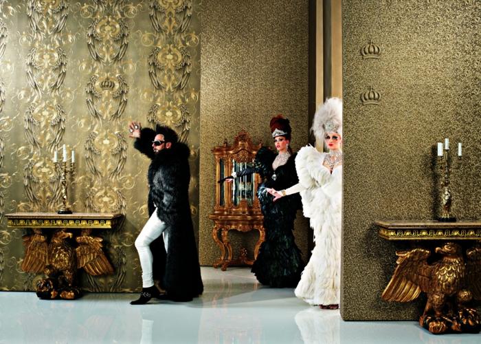 Gotik Architektur Merkmale Kunst weisses Badezimmer Gestaltung Design kitsch gloeoeckler