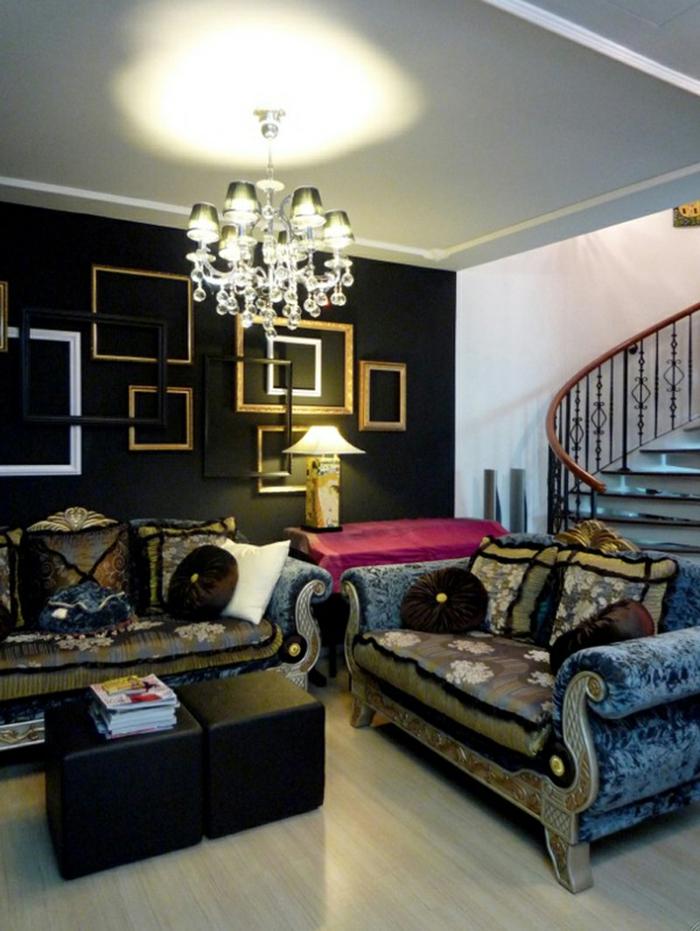 Gotik Architektur Merkmale Kunst weisses Badezimmer Gestaltung Design mix der stile
