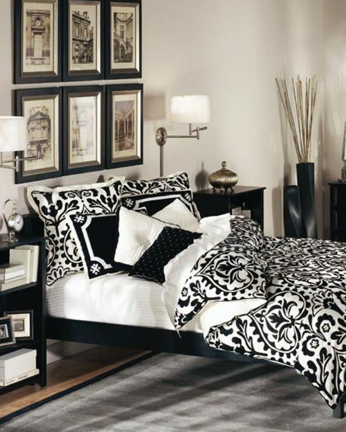 Gotik Architektur Merkmale Kunst weisses Badezimmer Gestaltung Design schlafzimmer bett soft