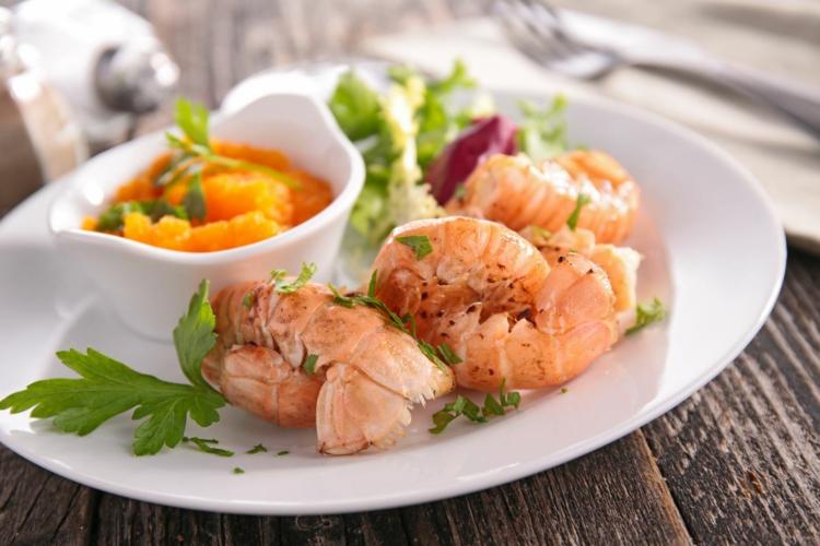 Fischgerichte Meeresfrüchte Vorspeise Rezepte Garnelen