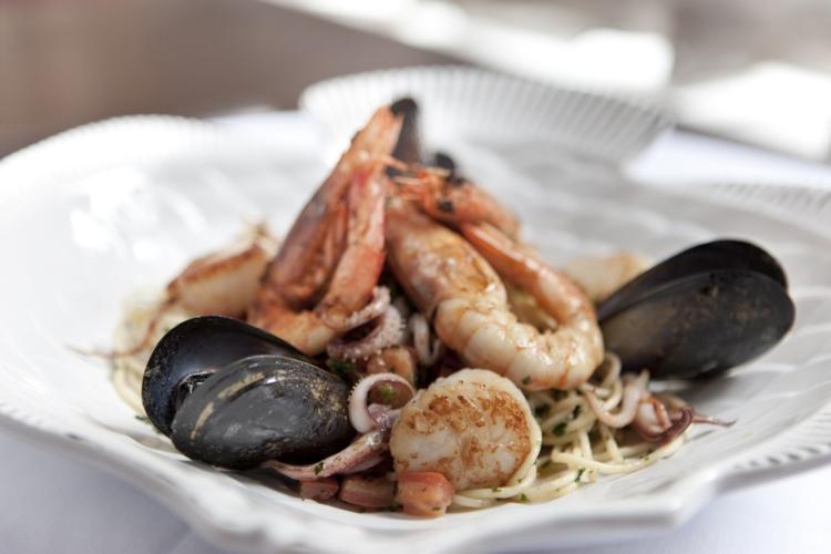 Fischgerichte gesunde Ernährung Meeresfrüchte rezept