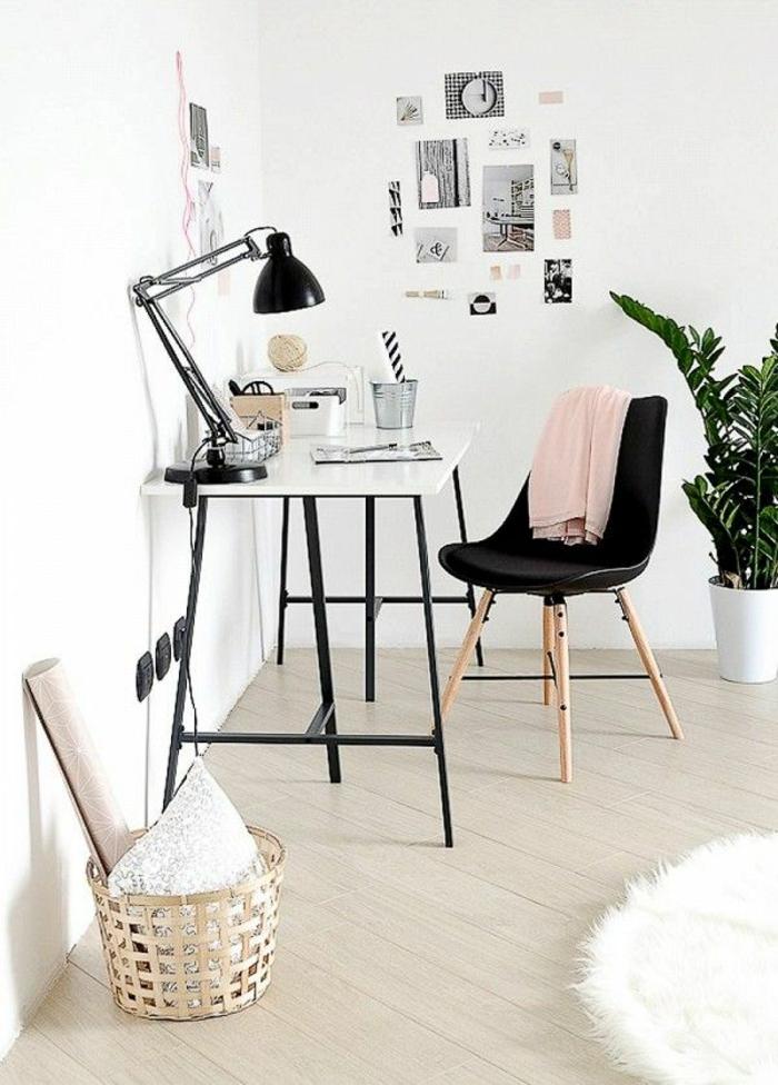 Home Office Möbel skandinavisch einrichten