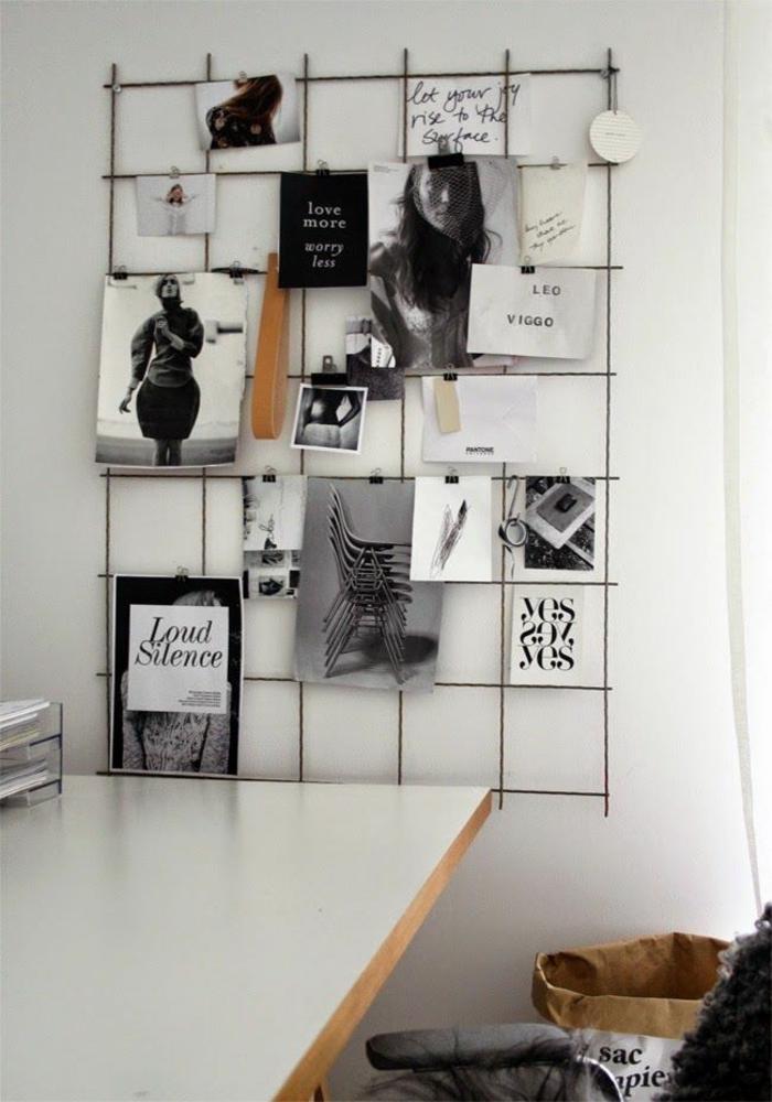 Home Office einrichten Möbel und Aufbewahrung Wanddeko