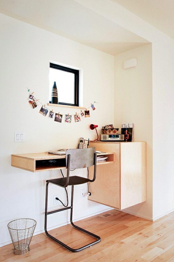Homeoffice Möbel kleines Büro einrichten Ideen