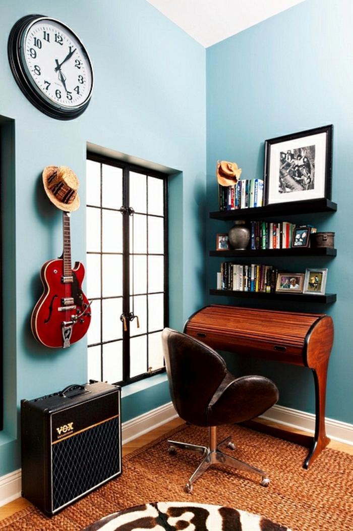 Homeoffice Möbel kleines Büro kreativ einrichten