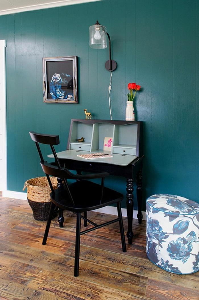 Homeoffice kompakte Möbel kleines Büro einrichten