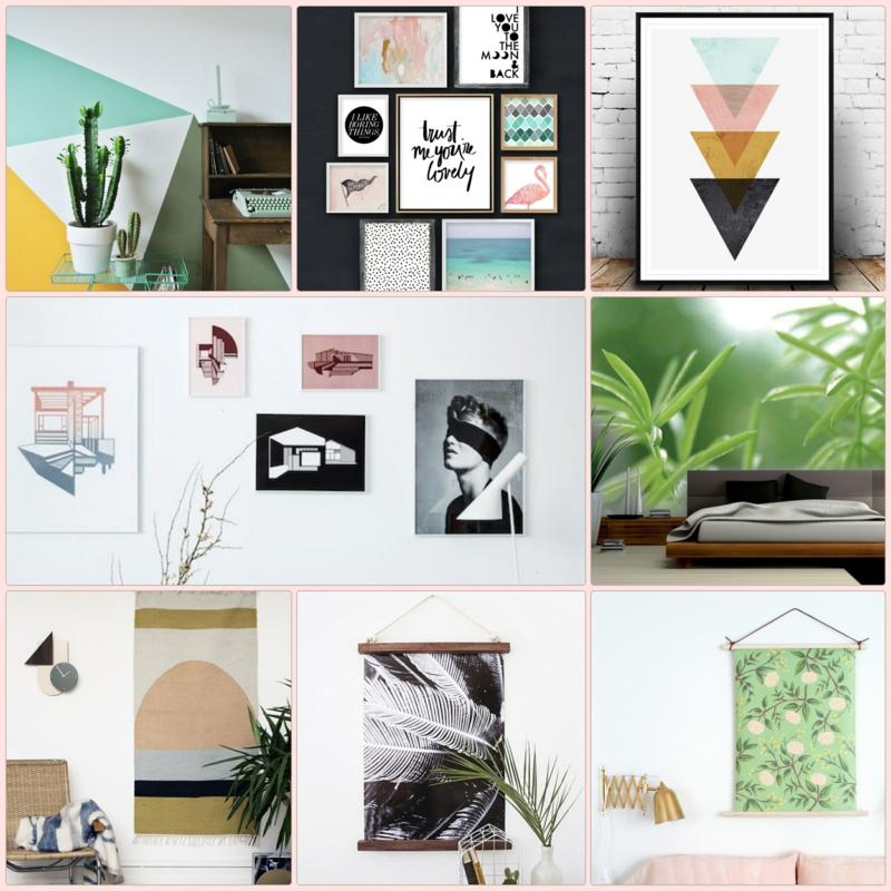 ... inspirierende Ideen für eine kreative Wandgestaltung im modernen Stil
