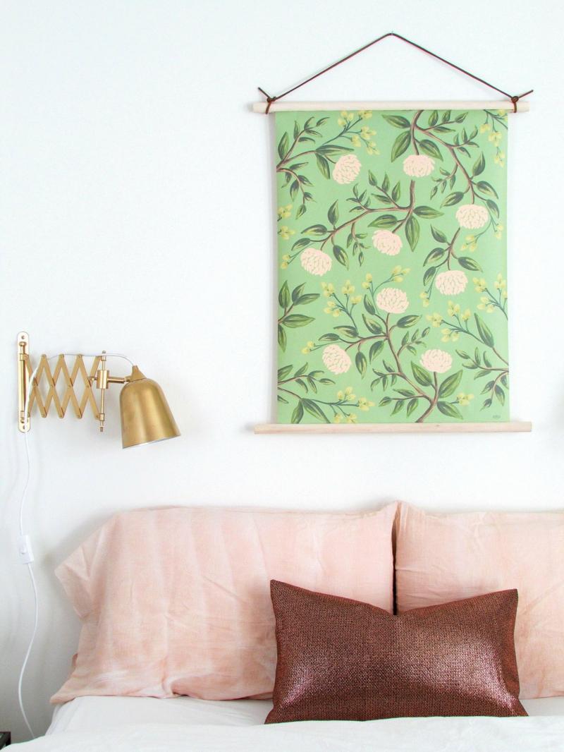 Ideen für moderne Wandgestaltung Wandteppiche