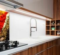 k chenr ckwand trendige alternativen zum klassischen fliesenspiegel. Black Bedroom Furniture Sets. Home Design Ideas